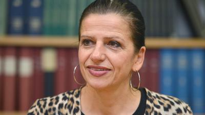 Sabine Hagmann, die Geschäftsführerin des Handelsverbandes Baden-Württemberg.