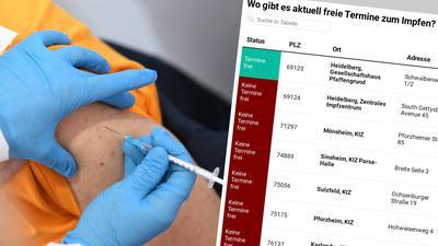 Die Nachfrage ist groß, der Impfstoff rar. Mit einem neuen Angebot wollen wir Sie bei der Terminsuche unterstützen.