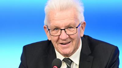 Winfried Kretschmann (Bündnis 90/Die Grünen), Ministerpräsident von Baden-Württemberg.