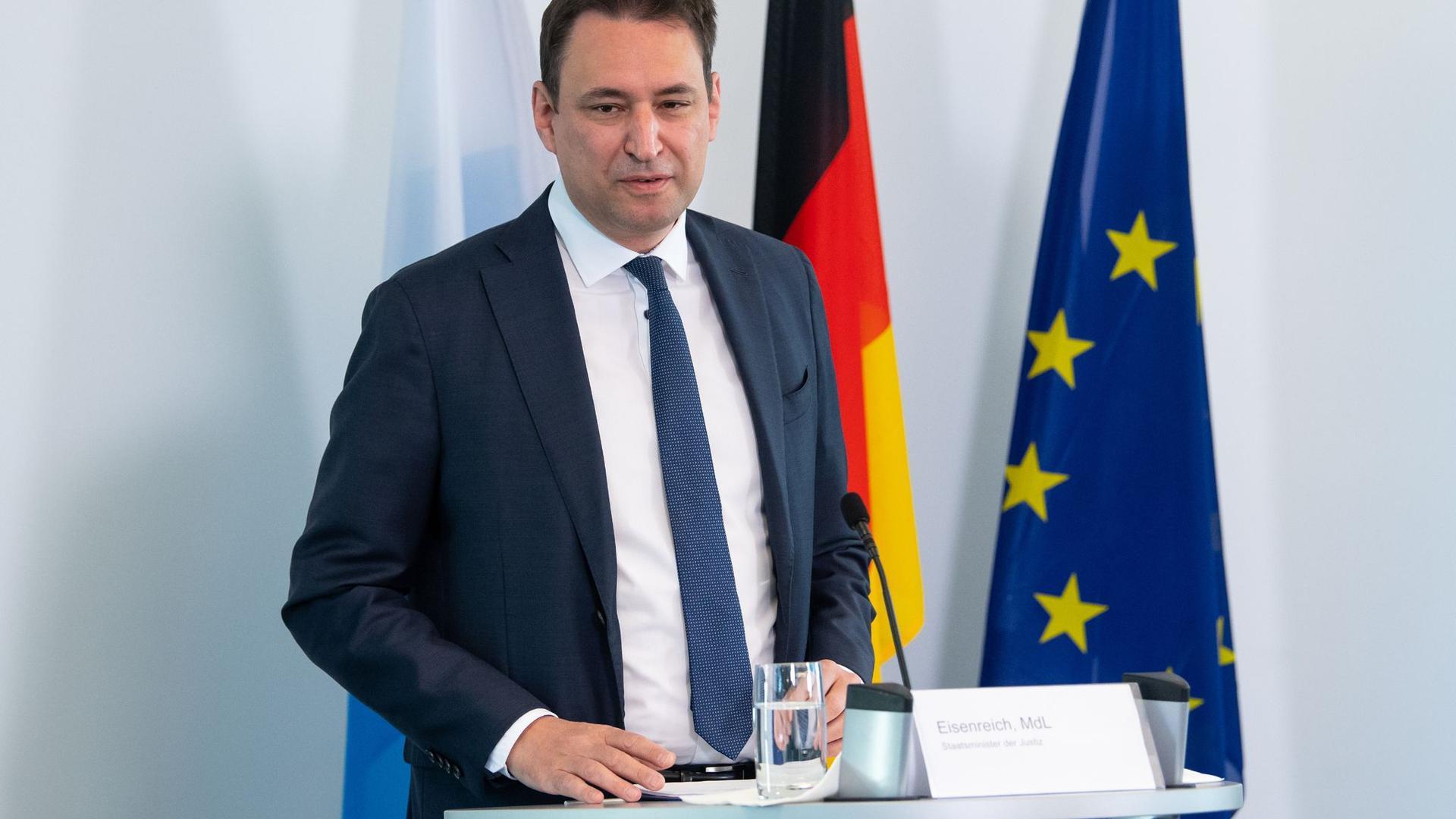 Georg Eisenreich (CSU), Justizminister von Bayern.