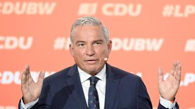 Thomas Strobl, der Landesvorsitzende der CDU in Baden-Württemberg.