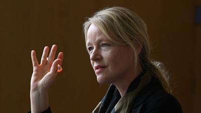 Thekla Walker (Bündnis 90/Die Grünen), Umweltministerin von Baden-Württemberg, spricht.