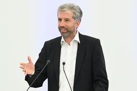 Der Oberbürgermeister von Tübingen Boris Palmer (Grüne).