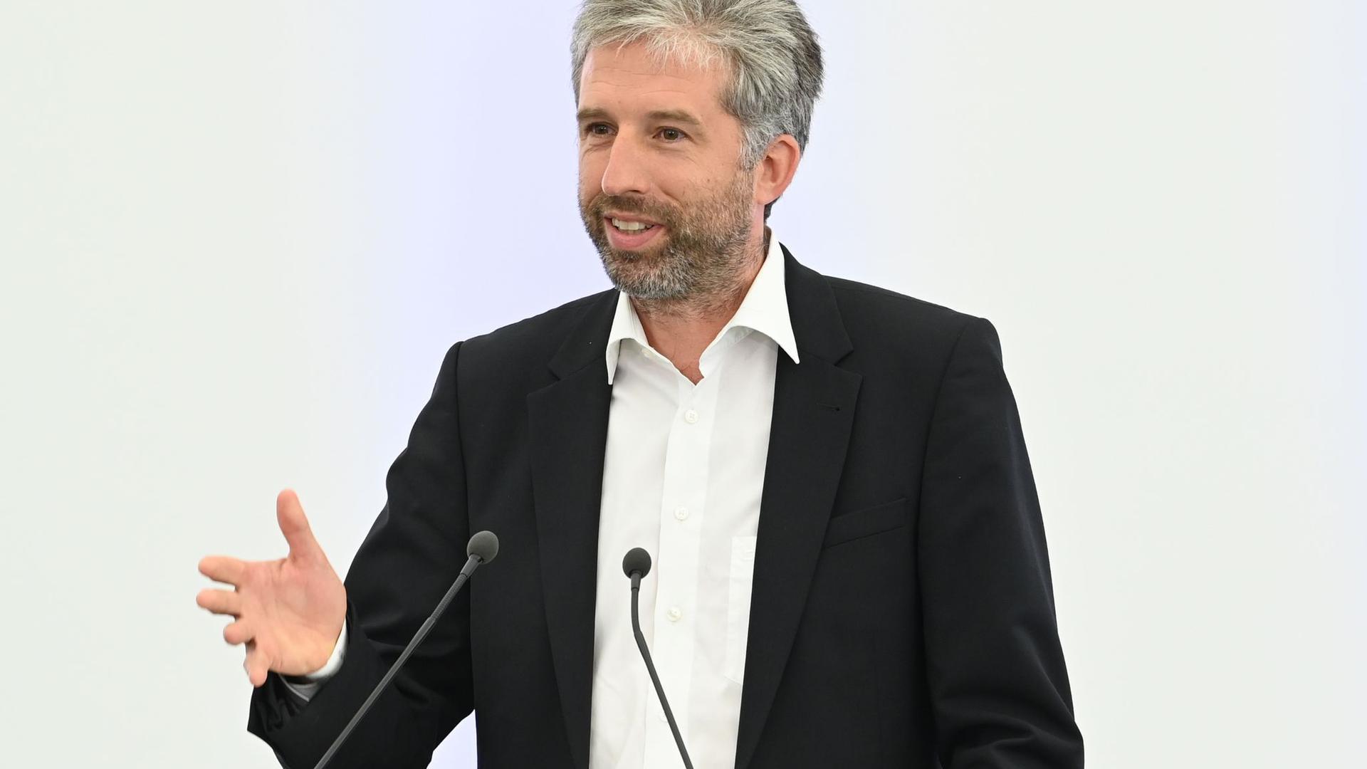 Boris Palmer (Bündnis 90 / Die Grünen) spricht.