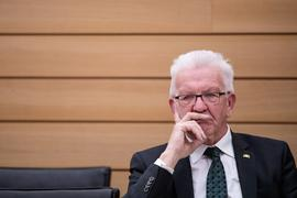 Winfried Kretschmann (Bündnis 90/Die Grünen).
