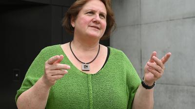 Theresa Schopper (Bündnis 90 / Die Grünen) spricht.