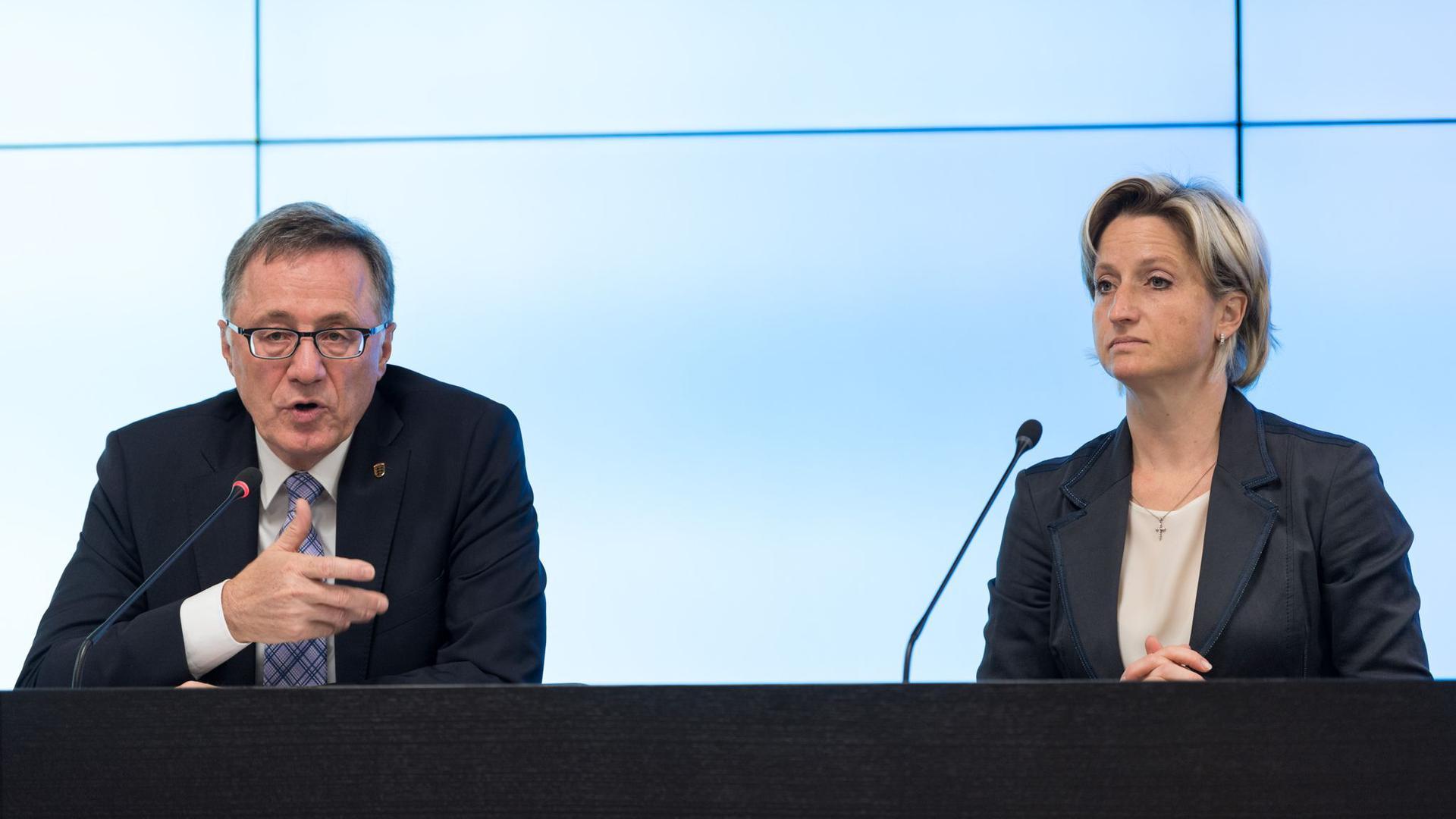 Wirtschaftsministerin Nicole Hoffmeister-Kraut (CDU) von Baden-Würtemberg.