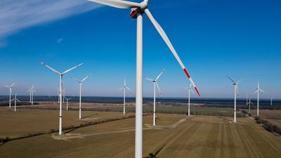 Ein Windpark.