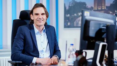Andreas Stenger, Präsident des Landeskriminalamts, lächelt.