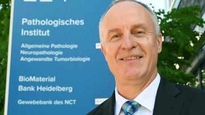 Peter Schirmacher, Geschäftsführender Direktor des Pathologischen Instituts am Universitätsklinikum Heidelberg.
