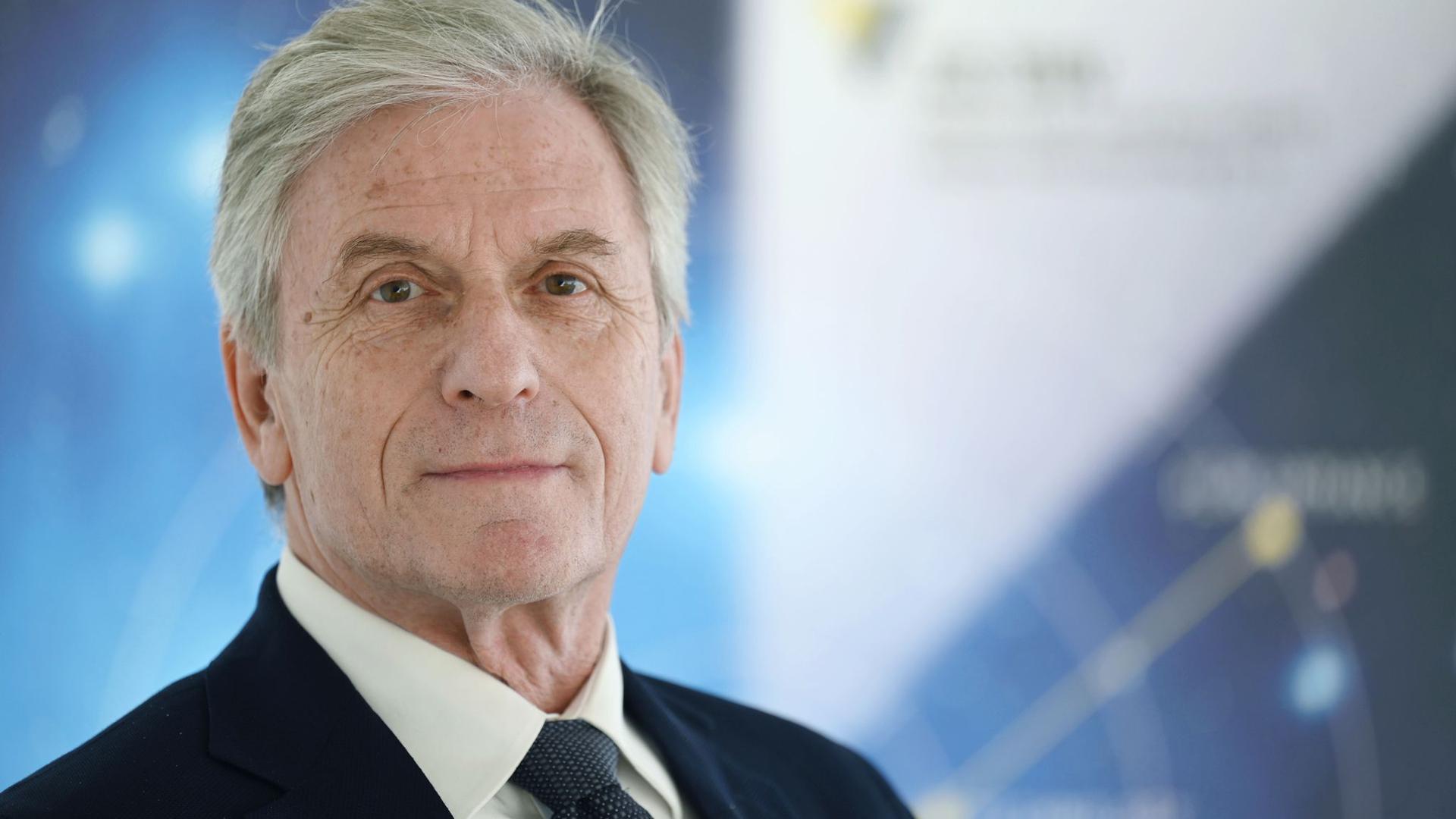 Rolf-Jürgen Ahlers, Vorstandsvorsitzender des Forums Luft- und Raumfahrt Baden-Württemberg.