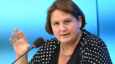 Theresa Schopper (Bündnis 90/Die Grünen), Kultusministerin von Baden-Württemberg.