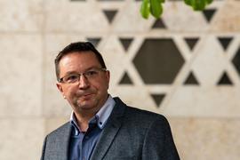 Michael Blume, Antisemitismusbeauftragte der Landesregierung Baden-Württemberg, spricht.