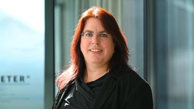 Monika Stein, die Landesvorsitzende der Gewerkschaft GEW in Baden-Württemberg.