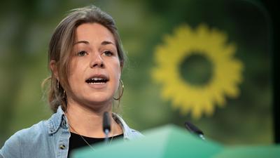 Sarah Heim, Sprecherin der Grünen Jugend Baden-Württemberg.