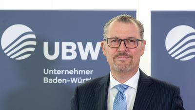 Rainer Dulger, Präsident des neu gegründeten Verbandes Unternehmer Baden-Württemberg.