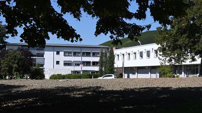 Ein Gebäude der Klinik am Weissenhof in Weinsberg.