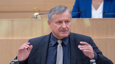 Hans-Ulrich Rülke im Landtag von Baden-Württemberg.
