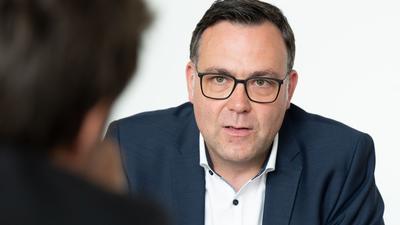 Siegfried Lorek (CDU) spricht.