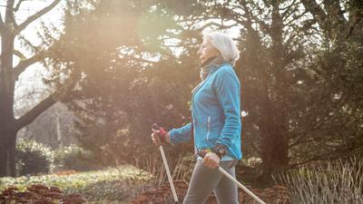 Ausdauersport im Freien ist eine gute Betätigung, um seine Knochen zu stärken.