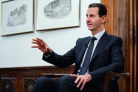 Syriens Präsident Baschar al-Assad:Nach mehr als neun Jahren Bürgerkrieg beherrschen Assads Anhänger wieder mehr als zwei Drittel des Landes.