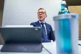 CDU-Politiker Philipp Amthor beim Treffen des Kreisverbandes Ludwiglust-Parchim.