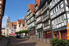 Fachwerkperle: Bad Wildungens Altstadt blieb von Bausünden weitgehend verschont.