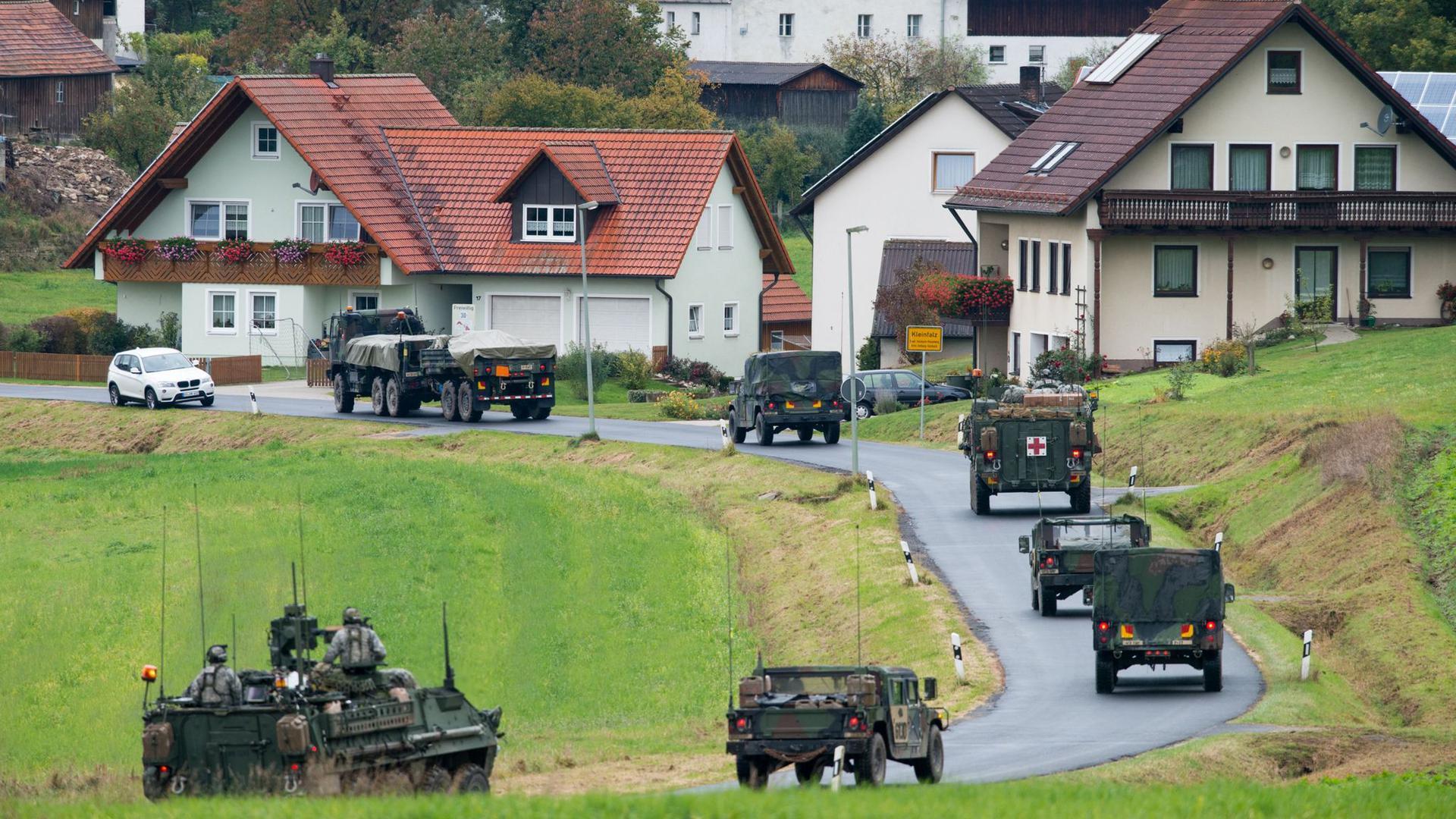 Präsident Trump plant zukünftig mit weniger US-Soldaten in Deutschland.