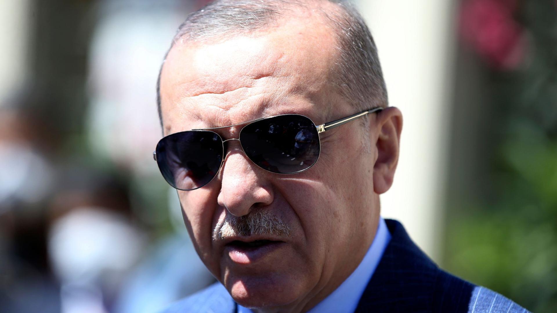 Neueste Nachrichten über Erdogan