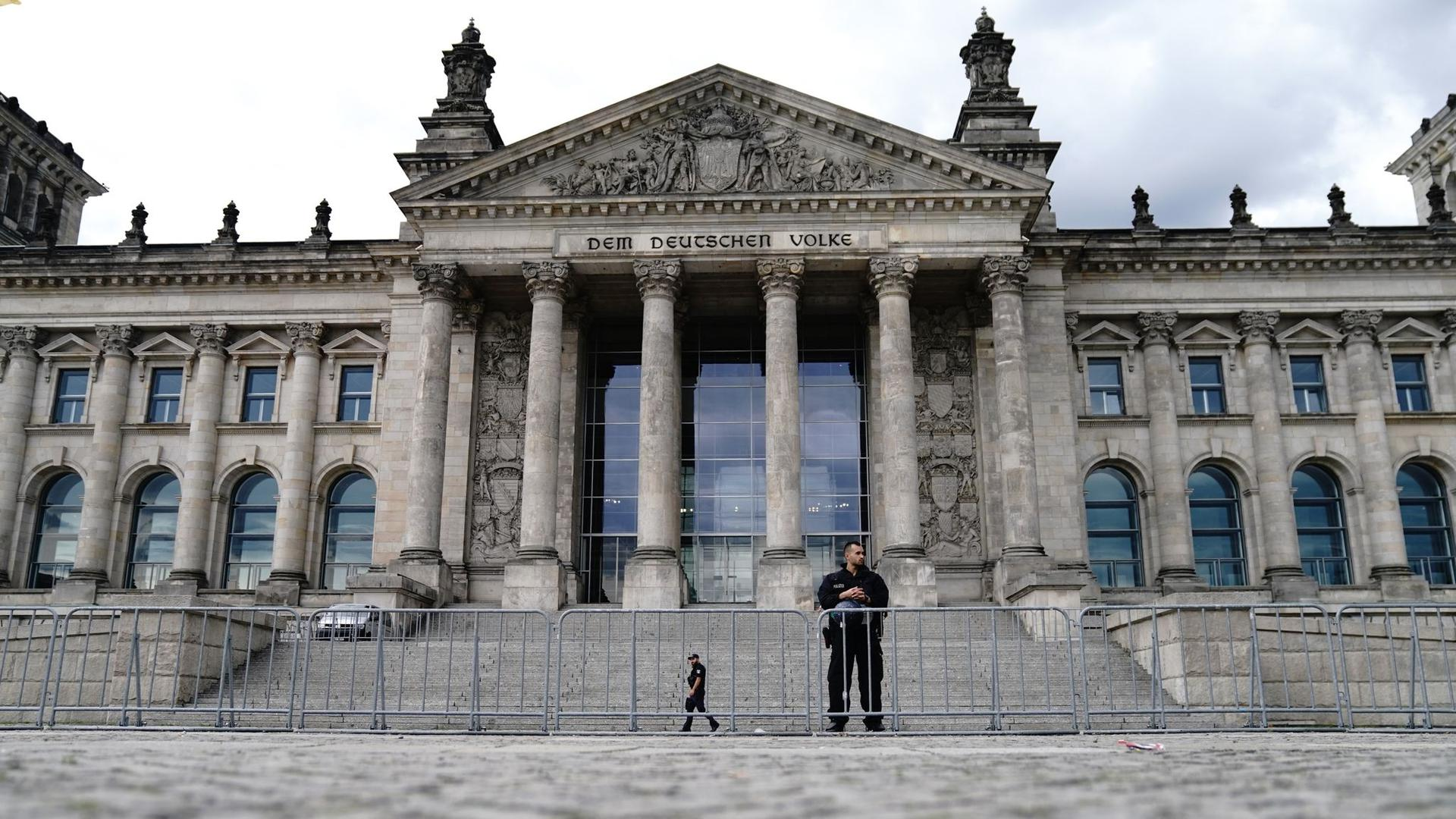 Bannmeile Reichstag