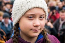 Klimaaktivistin Greta Thunberg hat letztes Jahr den Alternativen Nobelpreis bekommen.
