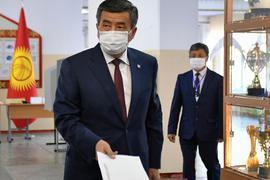Gibt sein Amt als Staatschef ab:Sooronbaj Dscheenbekow.