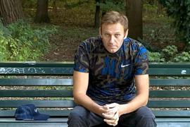 Ist nach seiner Vergigtung noch nicht vollständig genesen und macht in Deutschland eine Reha-Maßnahme: Alexej Nawalny.