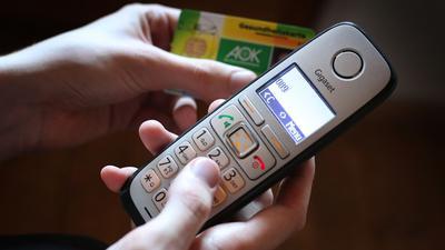Der Hausärzteverband hatte bereits eine Rückkehr zur telefonischen Krankschreibung gefordert.