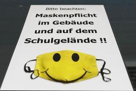 In Baden-Württemberg kommt die Maskenpflicht ab Klasse 5 im Unterricht.