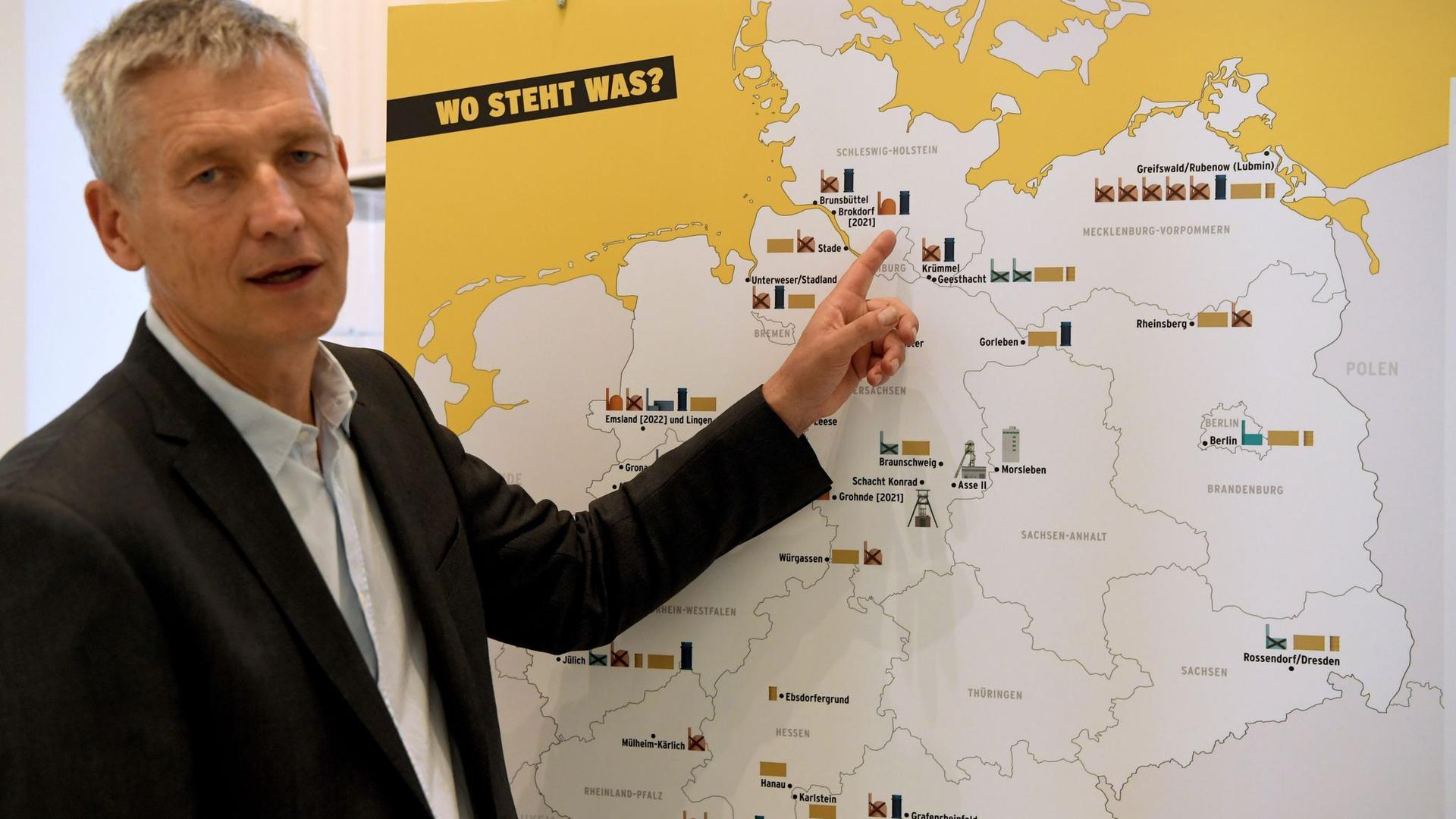 Wolfram König, Präsident des Bundesamts für die Sicherheit der nuklearen Entsorgung.