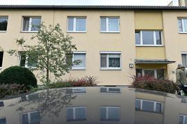 Das Wiener Mehrfamilienhaus, in dem es zu der Tat gekommen sein soll.