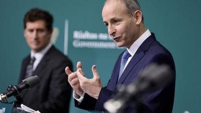 Irlands Premierminister Micheal Martin warnt vor einem schlimmen Winter.