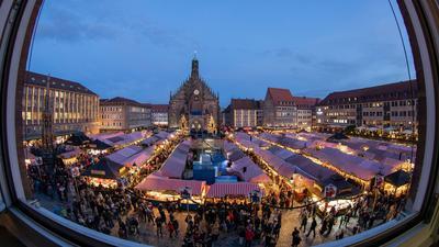 Fällt dieses Jahr aus: Der Nürnberger Christkindlesmarkt.