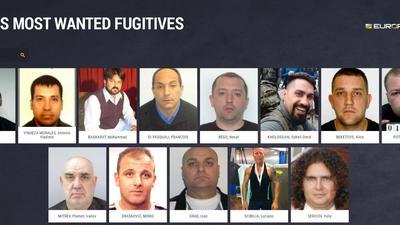 """Der Screenshot der Webseite von Europol, """"eumostwanted.eu"""", zeigt mehrere der laut Europol gefährlichsten Sexualstraftäter Europas."""