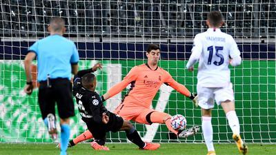 Trotz zwei Tore-Führung reichte es für Borussia Mönchengladbach nicht zum Sieg gegen Real Madrid.