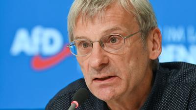 Hans-Christoph Berndt ist neuer Fraktionsvorsitzender der AfD im Brandenburger Landtag.