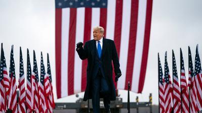 Unter ihm haben die transatlantischen Beziehungen ein wenig gelitten:US-Präsident Donald Trump.
