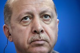 """""""Wir wissen, dass das Ziel nicht meine Person ist, sondern die Werte, die wir vertreten"""": Recep Tayyip Erdogan."""