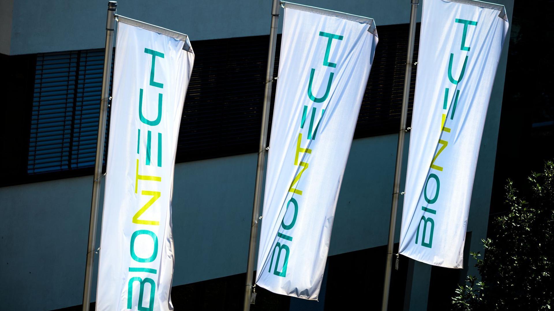 Die Unternehmenszentrale von Biontech in Mainz.