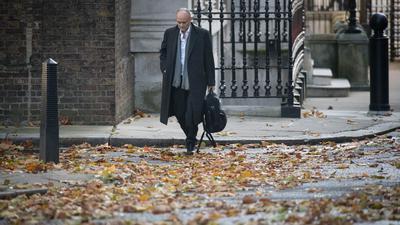 Dominic Cummings, Berater des britischen Premierministers Johnson, trifft in Downing Street ein.