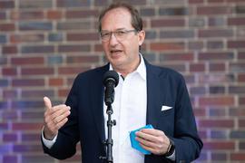 Alexander Dobrindt, Vorsitzender der CSU-Landesgruppe im Deutschen Bundestag.