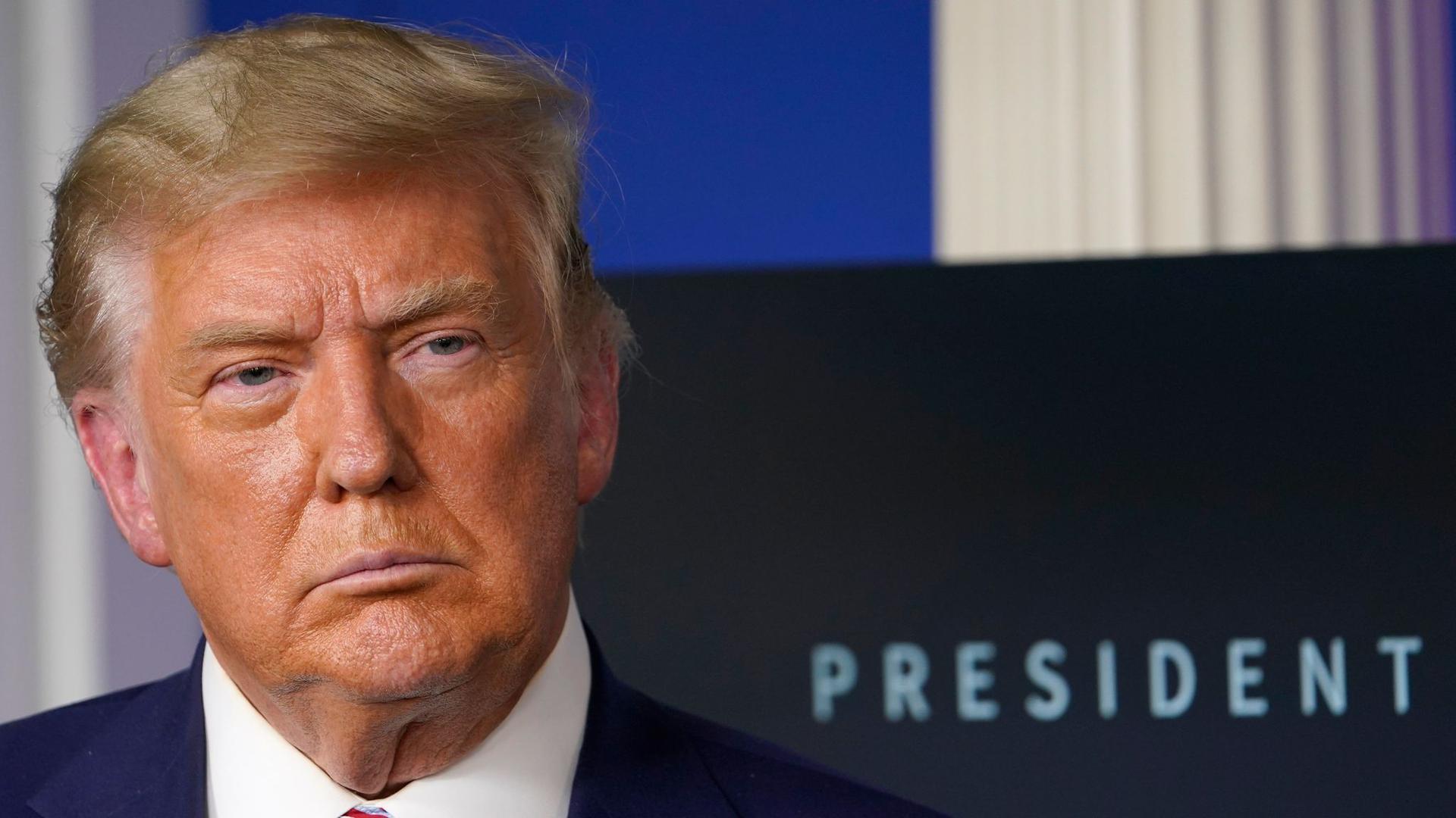 Donald Trump muss juristische Niederlagen einstecken.