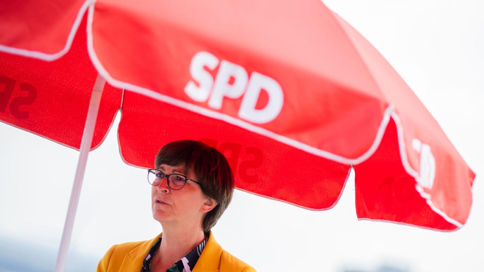 """""""AfD kooperiert zunehmend mit Extremisten"""": Saskia Esken."""