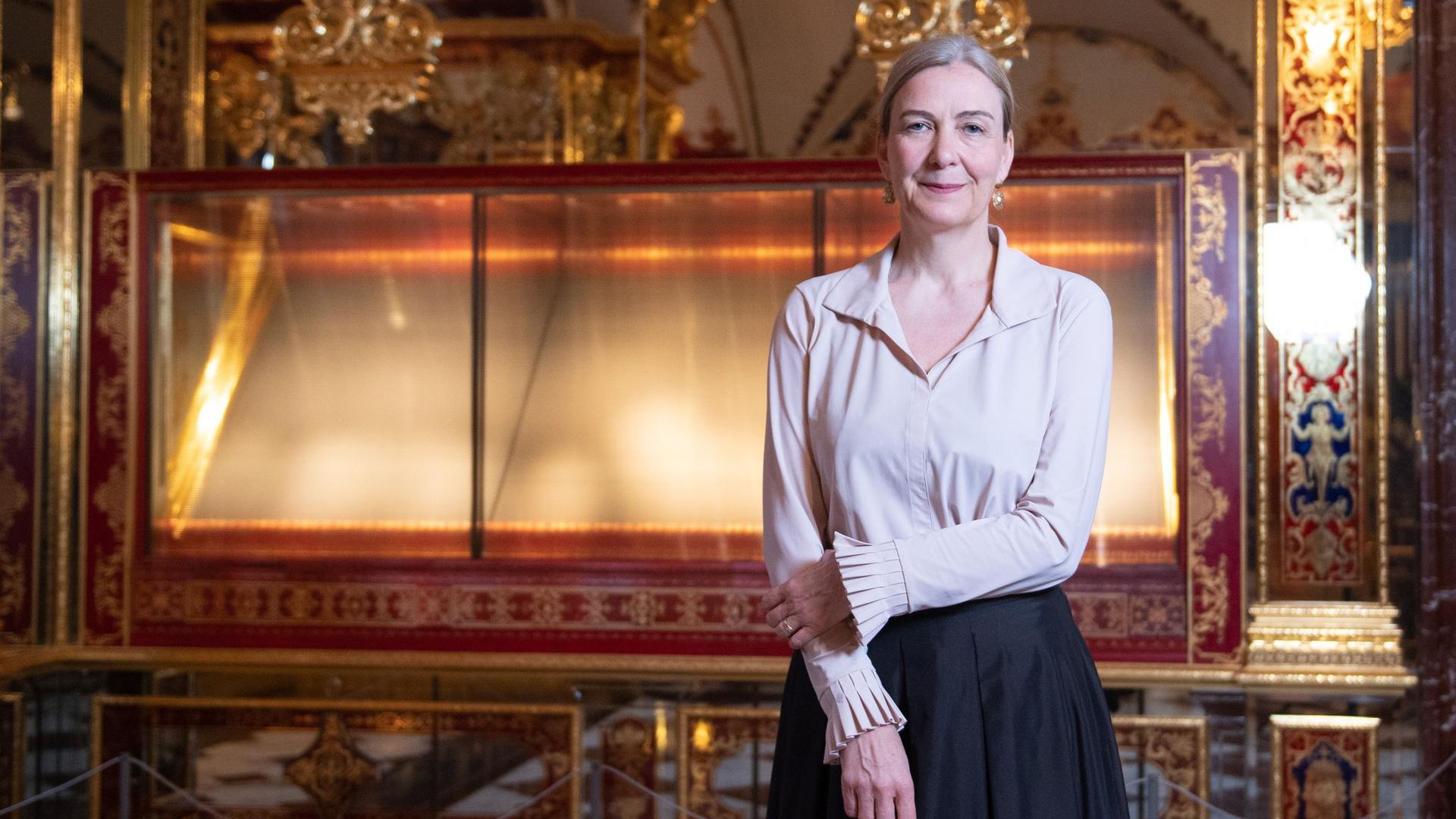 Marion Ackermann, Generaldirektorin der Staatlichen Kunstsammlungen Dresden.